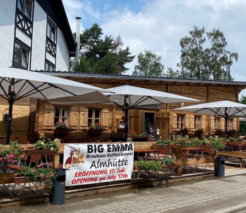 Restaurant, Ramstein Gastronomie, Big Emma Speisekarte